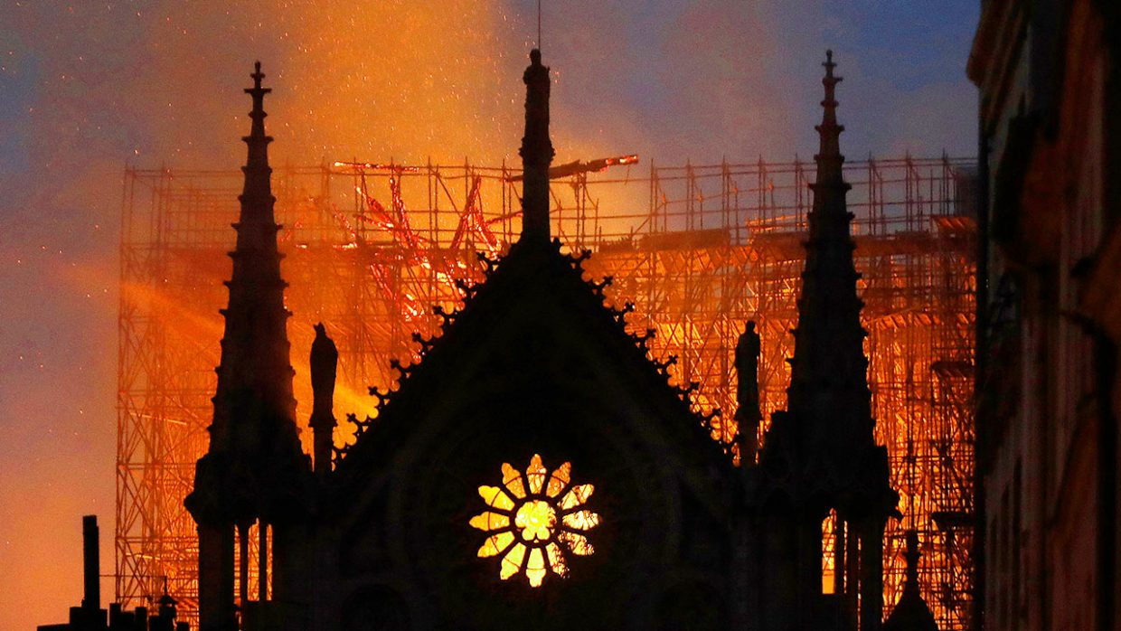 Notre-Dame: When Temples Fall